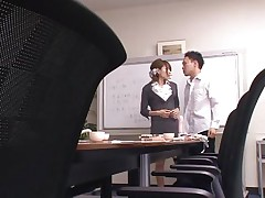 This babe tries to give him a admirable education but she's a bit harsh sometimes and that makes this lad angry about her. This time Rio really screwed him up and the guy is not going to take it. He grabs her, ties her hands and takes off those panties. Looks like miss Rio is about to acquire a coarse fuck for her attitude