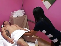 Wild and lengthy-awaited sex occurs in massage room