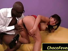 Asian geisha VS black dick