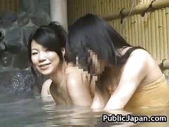 Hot Asian babe is fucked in the hot spring 5 by PublicJapan